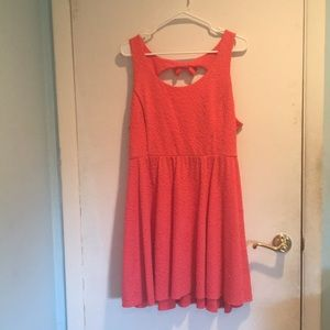 LC Lauren Conrad Dresses - Soft Salmon Summer Dress